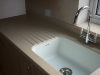 Inset Corian Sink With Drainer